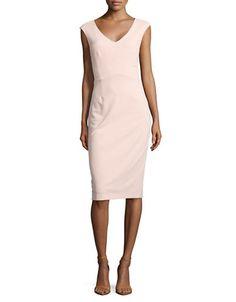 Women | Work Dresses  | Scuba Crepe Midi Dress | Hudson's Bay