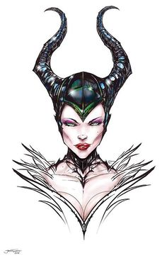 Maleficent by Jamie Tyndall
