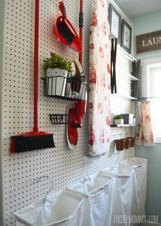"""Visit our internet site for additional info on """"laundry room storage small shelves"""". It is an exceptional location to read more. Small Shelves, Small Storage, Diy Storage, Storage Ideas, Storage Shelves, Storage Stairs, Organization Ideas, Aqua Laundry Rooms, Laundry Room Organization"""