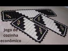 Crochet Table Mat, Crochet Patterns, Youtube, Blog, Knitted Rug, Kitchen Playsets, Kitchen Kit, Kitchen Sets, Tejidos