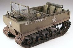 LZ Models WWII US M29 Weasel Tracked Vehicle (Resin) -- Plastic Model Personnel Carrier Kit -- 1/35 -- #35501