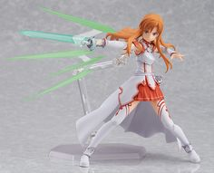 Max Factory figma SAO Sword Art Online Asuna Yuuki Complete Figure featured on Jzool.com