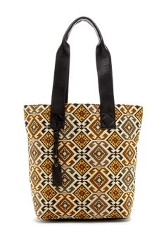 Isabella Fiore Tiled Symmetry Donna Tote