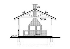 DOM.PL™ - Projekt domu KP G256 - Altana Ogrodowa CE - GARAŻ KT3-82 - gotowy koszt budowy Dom, Floor Plans, Chandelier, Ceiling Lights, Grill, Home Decor, Homemade Home Decor, Candelabra, Ceiling Light Fixtures