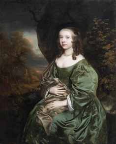 Portrait of Sibyl Masters Sir Peter Lely - 1648-1651