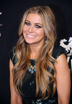 Carmen Electra Hair Color 2012