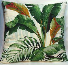 Tommy-Bahama-Palm-Leaf-Cotton-Cushion-Cover-60x60cm-NEW