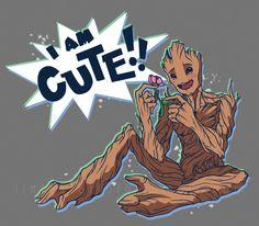 Groot is Cute