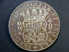 VIDEO RARE 8 REALES 1796 OP 989 ancient coins , Spanish coins, silver reale coin, ancient Spanish coin