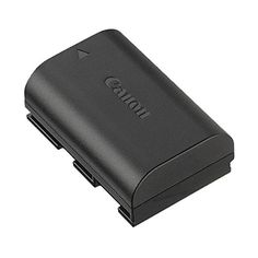 Canon LP E6N Rechargeable Battery for EOS 7D Mark II - Black