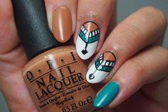 Kelsie's Nail Files: Pocahontas Tribal Nail Art