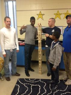Poise, pt. 2: Building relationships AND towers at One2One this week.