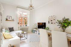 DECO: Un bonito piso todo blanco   Decorar tu casa es facilisimo.com