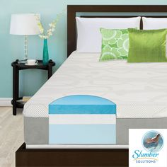 Superior comfort, outstanding luxury, and ultimate satisfaction are provided by the Slumber Solutions 12-inch Choose Your Comfort Gel Memory Foam Mattress. The cooling technology of gel foam ensures a sleep that leaves you relaxed and rejuvenated.