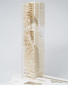 "nexttoparchitects: ""Model for 700 Studio Parametric Architecture, Concept Architecture, Interior Architecture, Architecture Models, Structural Model, Tower Models, Arch Model, Design Model, Condominium"