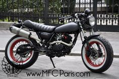 VANVAN by MFC Paris VAN-VAN Black Japan. MFC Design - Préparation motos, peinture, design, tuning, Suzuki - Kawasaki