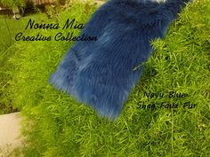 Plush Shag Faux Fur  Navy Blue         Newborn and by NonnaMiaCC, $19.00 WOW ...... 35% OFF FURS and all items in my ETSY Shop   Mongolian, Shag, Soft Shaggy AND Frosted Mongolian  Use Coupon Code 'NONNAMIA35' https://www.etsy.com/shop/NonnaMiaCC?ref=si_shop