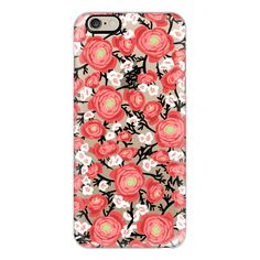 iPhone 6 Plus/6/5/5s/5c Case - Black vine floral (€36) ❤ liked on Polyvore featuring accessories, tech accessories, phone cases, iphone case, slim iphone case, floral iphone case, iphone cover case and apple iphone cases