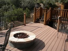 Decks and fire pits
