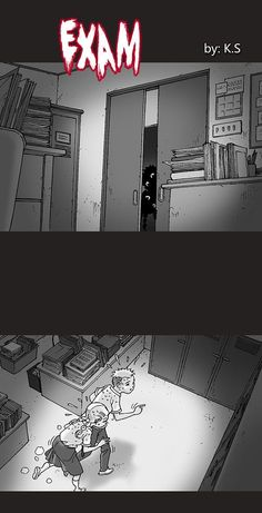 Silent Horror :: Exam | Tapastic Comics - image 1