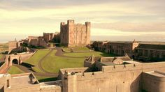 Bamburgh Castle July Horizon AP were recently commissioned to carry out some aerial survey work of the Bamburgh Research Project withi. Medieval Series, Medieval Art, Places To Travel, Places To Visit, Northumberland Coast, Aerial Footage, North Sea, Edinburgh, Glasgow