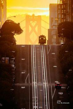 San Francisco cable car by David Yu