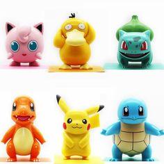 Genuine Pokemon Starry Dream Series Pikachu Jirachi Eevee Komala Snorlax - 6pcs 3