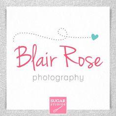 Premade Photographer Logo  Blair Collection by sugarstudios, $25.00