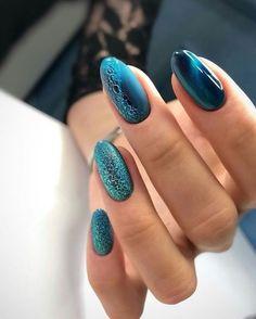 Green Nails, Pink Nails, Blue Nail, Bubble Nails, Nagellack Trends, Wedding Nails Design, Cat Eye Nails, Stylish Nails, Creative Nails