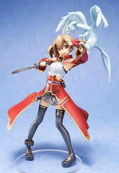 The Beastmaster, 'Dragon Tamer Silica'! From the popular anime series 'Sword Art Online' comes a figure of the Beastmaster, Silica! Sword Art Online Asuna, Sword Art Online Figures, Otaku Anime, Manga Anime, American Art, American History, Gurren, Kunst Online, Accel World