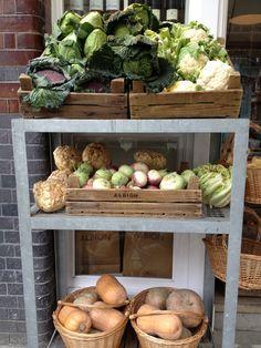 Grocery store near Spitalfields