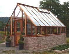 12 x 14 Vineyard Tudor greenhouse