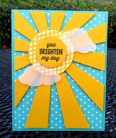Stampin' Up! Sunburst Sayings Class