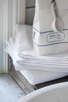 Towels cotton Putte 50x70 cm and 70x140 cm Foto Carina Gran