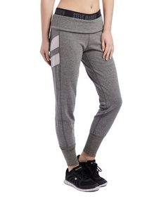 Love this Heather Gray Mesh-Detail Joggers on #zulily! #zulilyfinds