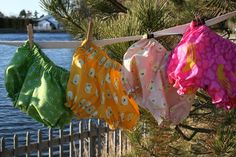 LOVE the bloomers! I need to make a slew for the girls for this summer.