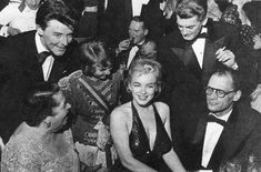 Marilyn and Arthur Miller at the April In Paris Ball at the Waldorf Astoria Hotel, NYC, April 1st 1957.