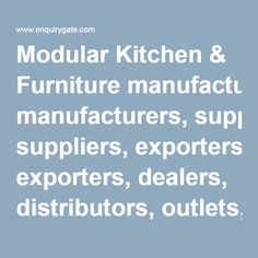 Leading Manufacturers, Suppliers, Exporters, Dealers, Distributors Of  Stainless Steel Furniture India