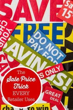 The Sale Price Trick Every Retailer Uses - all of them do it. Here's how to NOT fall for it.