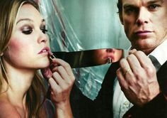 """With Lumen, I'm someone different. In her eyes, I'm not a monster at all."" -Dexter Morgan"
