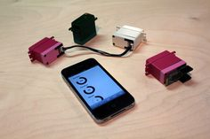 MOTI smart Motors.  Attach Moti smart motors to anything, and control them from a browser. Presto, instant robot!