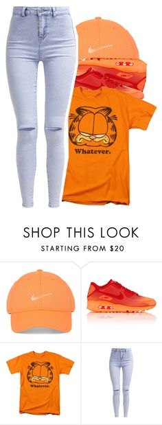"""""""I h8te monday's"""" by dimondz2 ❤ liked on Polyvore featuring NIKE and New Look"""