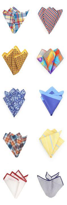 Patterned Pocket Squares | Bows-N-Ties.com