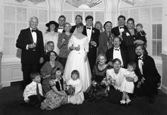This is the photo of the wedding party at the marriage of my good friend Toby Thomas and Tristyn Patrick. This was a long time ago. My hair had not turned grey yet.