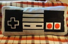 NES Controller Pillow from WTCrafts