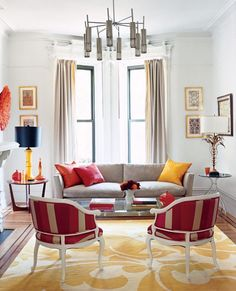 Neutral or Bright: Same Room, Different Colors, Both Work - but I prefer the Bright.