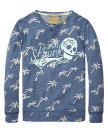 SHRUNK crew neck sweater | sweat | Boys Clothing at Scotch & Soda