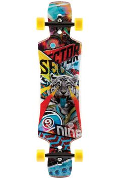 sector 9 static longboard complete new 2015