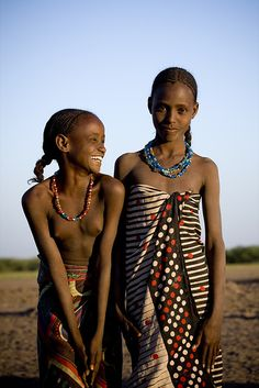 Afar tribe NEGRITOS Negro black beauty beautiful afro