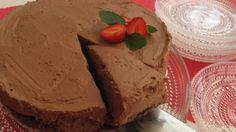 Irlantilainen suklaa-tuorejuustokakku